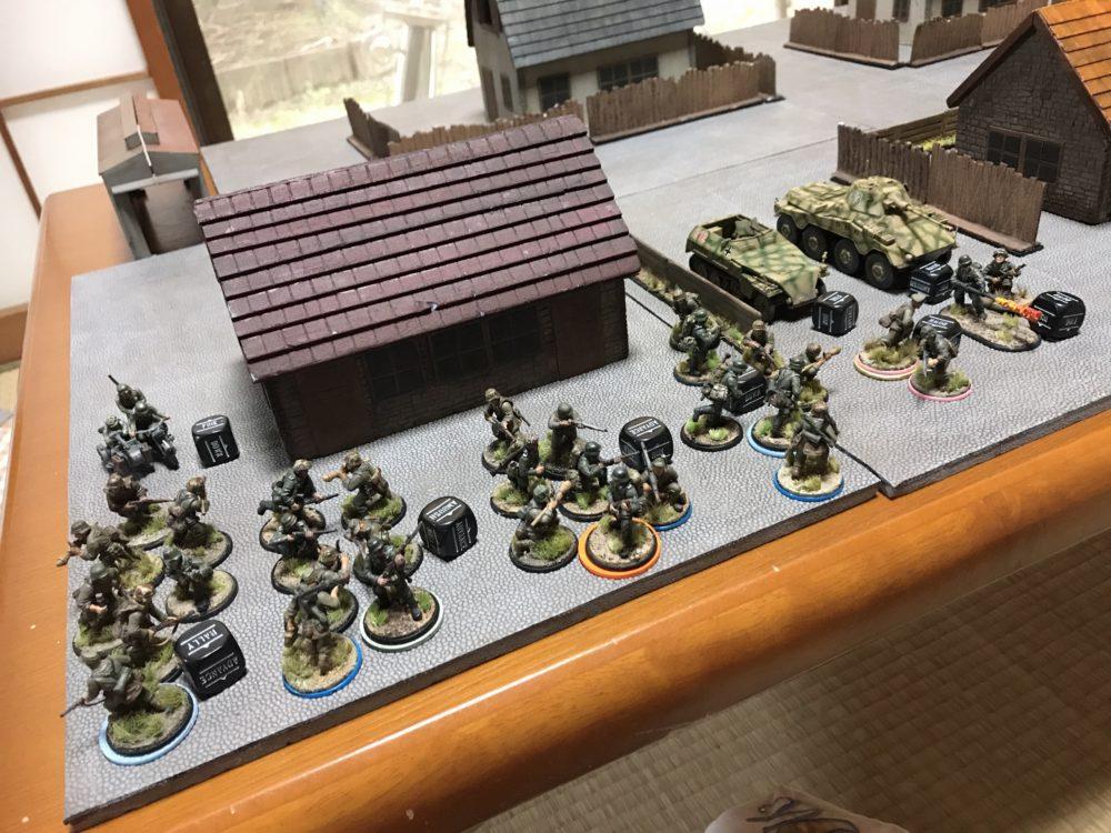 ミニチュアゲーム(ドイツ軍750pt)